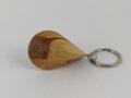 Apfelholz-Oloid Schlüsselanhänger 45mm x 30mm A13S